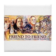 Friend to Friend Tile Coaster