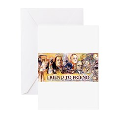 Friend to Friend Greeting Cards (Pk of 20)
