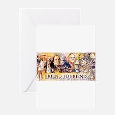 Friend to Friend Greeting Card