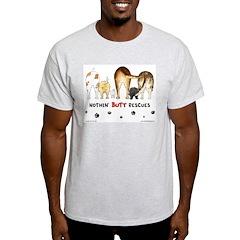 Dog Breed Rescues Ash Grey T-Shirt
