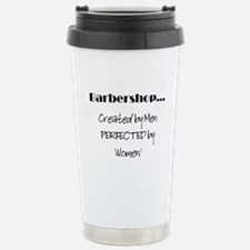barbershop... Stainless Steel Travel Mug