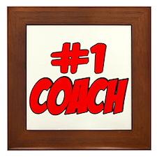 #1 Coach Framed Tile