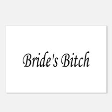 Bride's Bitch Postcards (Package of 8)