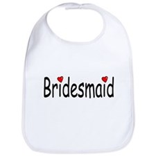 Bridesmaid (RD HRT) Bib