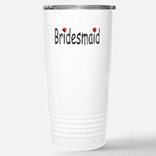 Bridesmaid (RD HRT) Travel Mug