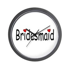 Bridesmaid (RD HRT) Wall Clock