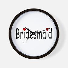 Bridesmaid (RD HRT) Wall Clock