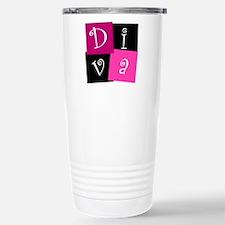 DIVA Design! Stainless Steel Travel Mug