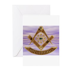 Past Master Greeting Cards (Pk of 20)