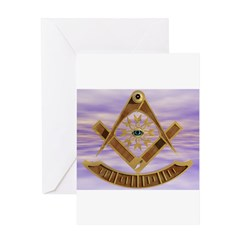 Past Master Greeting Card