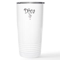 find your inner DIVA! Stainless Steel Travel Mug