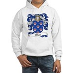 Picot Family Crest Hooded Sweatshirt