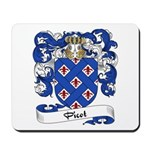Picot Family Crest Mousepad