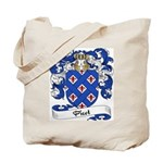 Picot Family Crest Tote Bag