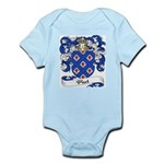 Picot Family Crest Infant Creeper