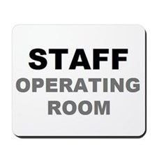 STAFF OR Mousepad