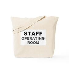 STAFF OR Tote Bag