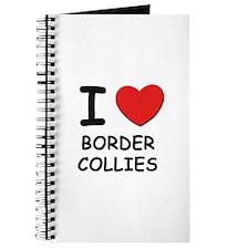 I love BORDER COLLIES Journal
