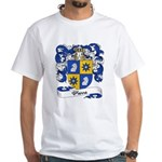 Pierre Family Crest White T-Shirt