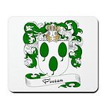 Pineau Family Crest Mousepad