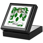 Pineau Family Crest Keepsake Box