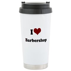 i heart barbershop Travel Mug