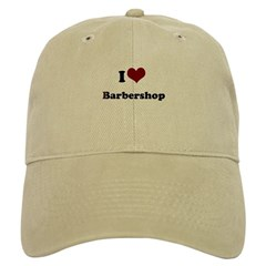 i heart barbershop Baseball Cap