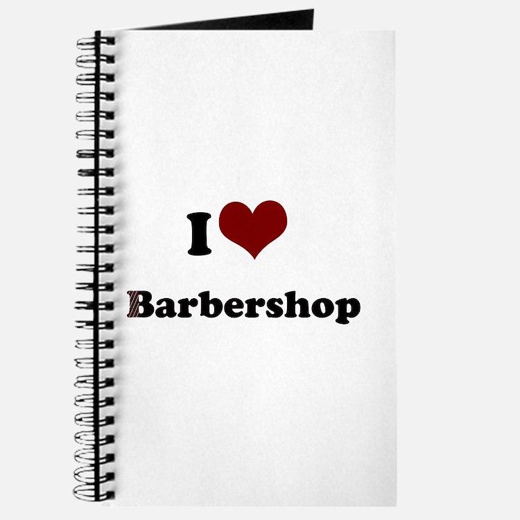 i heart barbershop Journal