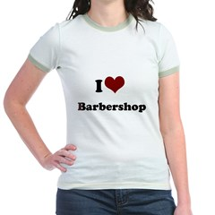 i heart barbershop T