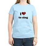 i heart to sing Women's Light T-Shirt