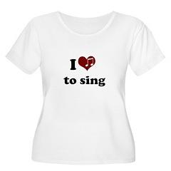 i heart to sing T-Shirt