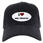 i heart my chorus Black Cap