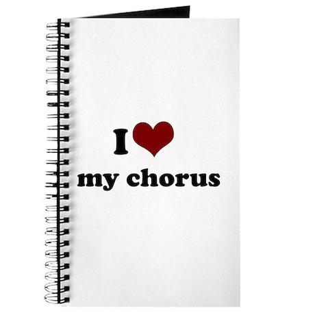 i heart my chorus Journal
