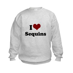 i heart sequins Sweatshirt