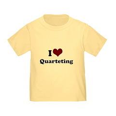 i heart quarteting T