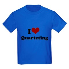 i heart quarteting T