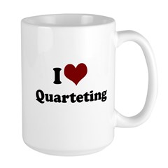 i heart quarteting Mug