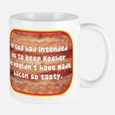 """""""Tasty Kosher Bacon"""" Mug"""