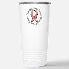 Endometrial Cancer Survivor Travel Mug