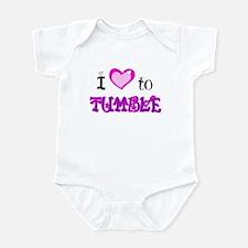 I Love to Tumble Infant Bodysuit