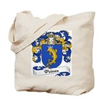 Poisson Family Crest Tote Bag