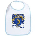 Poisson Family Crest Bib