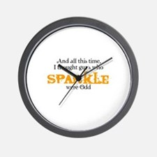 And all this time, I thought Wall Clock