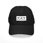 LOVE BOSTON TERRIERS Black Cap