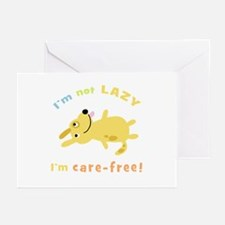 """""""I'm Not Lazy"""" Greeting Cards (Pk of 10)"""