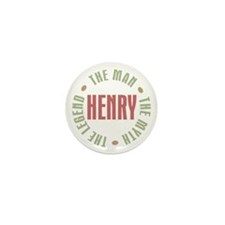 Henry Man Myth Legend Mini Button (10 pack)