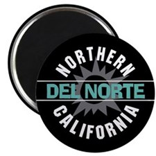 "Del Norte California 2.25"" Magnet (10 pack)"