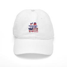 Just Vote! Baseball Cap