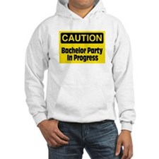 Bachelor Party In Progress Hoodie