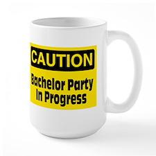 Bachelor Party In Progress Mug